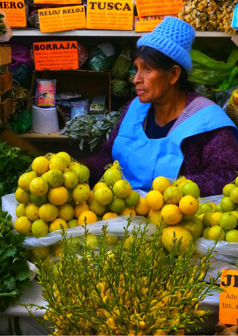 Mercato di Sucre, Bolivia
