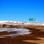 Hito Cajón, frontera Bolivia-Chile