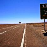 Trópico de Capricornio, desierto de Atacama
